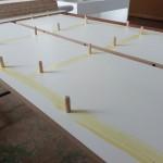 kolíkování desky