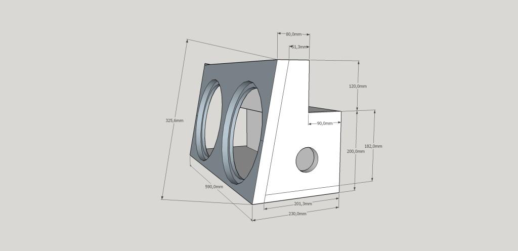 3D model ozvučnice